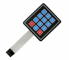 12 4x3 key Switch Membrane Matrix KeyPad Self Adhesive Arduino, RPI, PIC, AVR