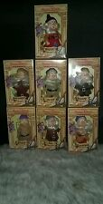 Disney Snow White And Seven Dwarfs -7 Piece Set By Bikin 6 1/2