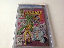 DROIDS 1 CGC 9.6 WHITE PAGES R2D2 C3PO GREAT STAR WARS COMIC A