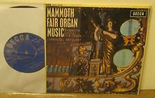 Mammoth Fair Organ Music MAMMOTH GAVIOLOI British 45 Phonograph Record w Spindle