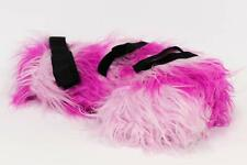 DISNEY WOMENS ALICE IN WONDERLAND PURPLE PINK CHESHIRE PLUSH FURRY COSTUME TAIL