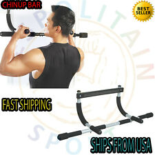 Heavy Duty Doorway Chin Pull Up Bar Exercise Fitness Gym Home Door Mounted