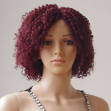 Ombre Short BOB Lace Front Wig Heat Resistant Synthetic Hair Full Head Wig bgtd