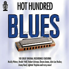 4 CD BOX HOT HUNDRED BLUES WATERS WOLF JOHNSON JAMES HOOKER REED HOPKINS HOLIDAY