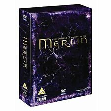 Merlin - Complete BBC Series 3 And Bonus Extras 5 Disc Box Set DVD New
