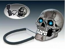 Fashion Vintage Hotel Home  Jumping Eyes Skull Retro Corded TelePhone Desk Phone