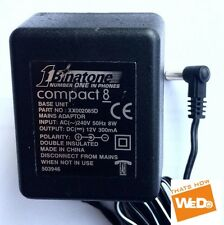 BINATONE XX002085D POWER ADAPTER  12V 300mA 8W UK PLUG