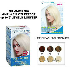 MAX BLOND Hair Bleaching Colour Kit Product Professional Result NO AMMONIA