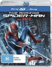 The Amazing Spider-Man 3D & 2D Blu Ray Combo Andrew Garfield Brand New
