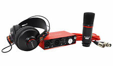 Focusrite SCARLETT STUDIO 2i2 MK2 192kHz USB 2.0 Audio Interface+Mic+Headphones
