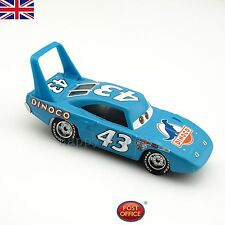 Disney Pixar Cars 1 NO.43 Dinoco The King 1:55 Diecast metal coche de juguete