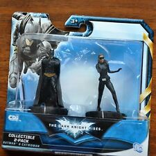DC Mattel (Cdi) Batman Dark Knight Rises Movie Batman Catwoman 2 pack MOC