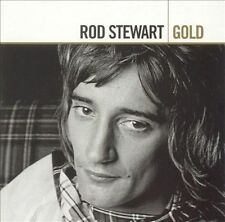 2 DISC CD ROD STEWART GOLD with Maggie May and You Wear It Well & more 35 SONGS