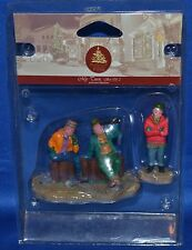 Lemax~Enchanted Forest~My Turn~Boys with Telescope~Christmas Village~Holiday