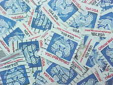 100 USED STAMPS # O135 20c EAGLE COIL OFFICIAL