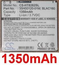 Battery 1350mAh type 35H00120-3 4/12ft BLAC160 For HTC Touch HD T8282