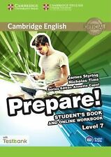 Cambridge English Prepare! Level 7 Student's Book and Online Workbook with Testb