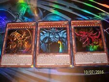 Slifer the Sky Dragon + Obelisk the Tormentor + The Winged Dragon of Ra LDK2