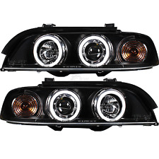 Set Faros BMW E39 Limousine Touring año fab. 95-00 claro blanco CCFL Angel Eyes