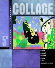 Collage:  Lectures litteraires