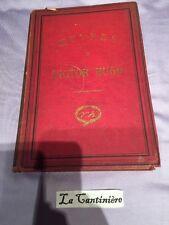 Livre Ancien Œuvres De Victor Hugo L'année Terrible . Eugène Hugues