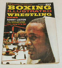 DECEMBER 1962 BOXING ILLUSTRATED MAGAZINE IN FAIRLY GOOD CONDITION