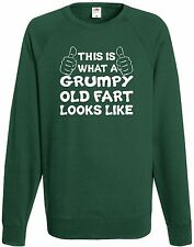 This Is What A Grumpy Fart Looks Like Sweatshirt Comedy Fathers Day Gift Xmas