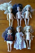 "Lot of 6 MINI AMERICAN GIRL 6"" Dolls Pleasant Company Josephina, Molly, Kit"