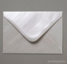 50 Oyster Pearlescent C7 Envelopes - Wedding RSVP