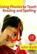 Using Phonics to Teach Reading and Spelling (Book & CD Rom)-ExLibrary
