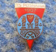 POSNANIA POZNAN POLAND RUGBY POWERBOAT CANOE KAYAK ROWING 1980's PIN BADGE