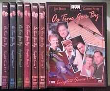 bbc  AS TIME GOES BY complete series 1 2 3 4 5 6 7 8 9  DVD