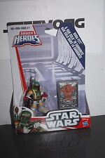 Playskool Star Wars Galactic Heroes Boba Fett w/ Han In Carbonite  Brand New
