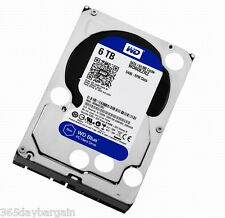 "Western Digital WD 6TB Blue Internal 3.5"" Hard Drive (model: WD60EZRZ)"