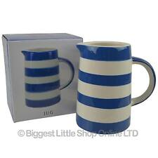 NEW Classic Blue Band Striped JUG by Leonardo GIFT Boxed Present Milk