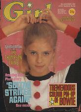 Girl Magazine 26 November 1983    The Thompson Twins