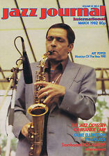 ART PEPPER / FRANKIE CAPP / DUKE ELLINGTON Jazz Journal     Mar 1982