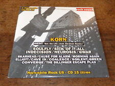 KORN - SOULFLY - INDECISION - ELLIOTT - NEUROSIS - CONVERGE - CD Compil !!!