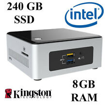 Mini Pc De Escritorio/dual Core/8GB DDR3 Ram/240GB SSD/Windows 10 Professional