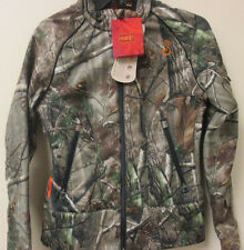 NWT SHE OUTDOOR APPAREL C2 FLEX FIT WOMENS Girls Hunting CAMO JACKET Size XS