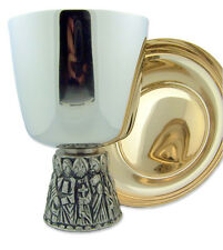 Last Supper Chalice and Bowl Paten - Free Shipping