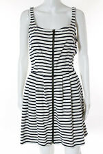 Sea New York Multi-Color Striped Sleeveless Causal Dress Size 6 $275 New 087314