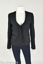 *ALEXANDER WANG* SILK MIX BUTTON UP JACKET UK 8