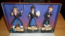 Harry Potter 3 Ornaments 2000 Kurt Adler Boxed Harry Hermione Ron Excellent Cond
