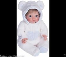 Belle chad valley tiny treasures bear confortable costume fit 18 pouces