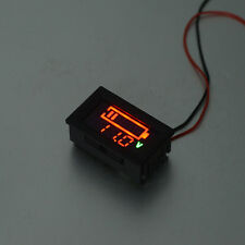 Volmeter LED Color Digital Display Voltage Meter Panel Gauge with Wires YB27VE