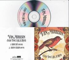 VAN MORRISON EVERY TIME I SEE A RIVER RARE 2 TRACK PROMO CD