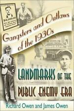 Gangsters and Outlaws of the 1930's, , Owen, James, Owen, Richard, Very Good, 20