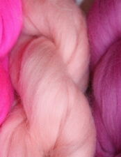 Merino Wool Top Roving  Salmon 1 oz