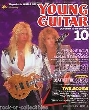 Young Guitar Magazine October 1988 Japan Night Ranger Scorpions